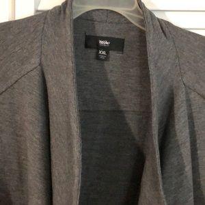 mossimo Jackets & Coats - Cute NWT Mossimo moto style jacket/cardigan XXL